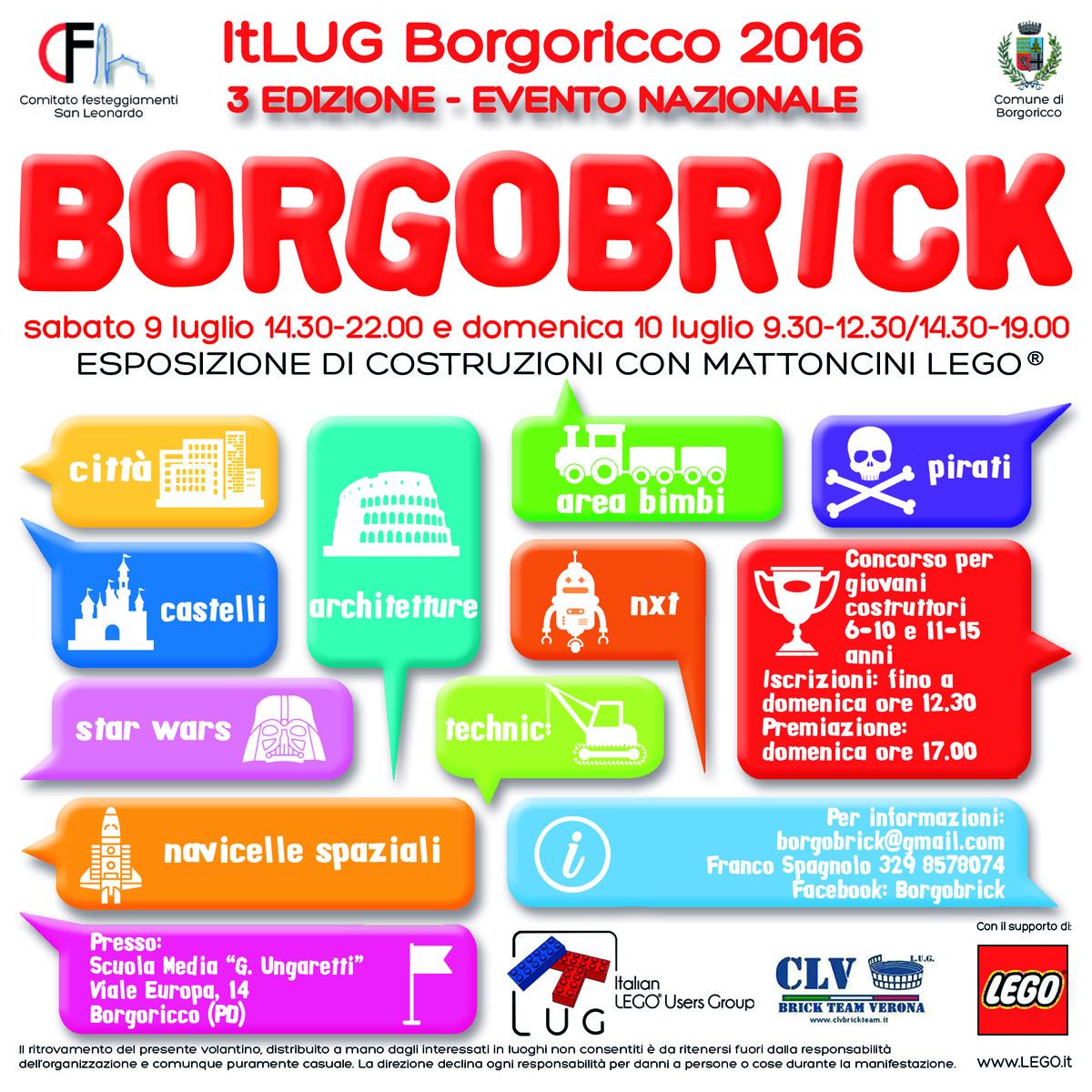 BORGOBRICK 2016