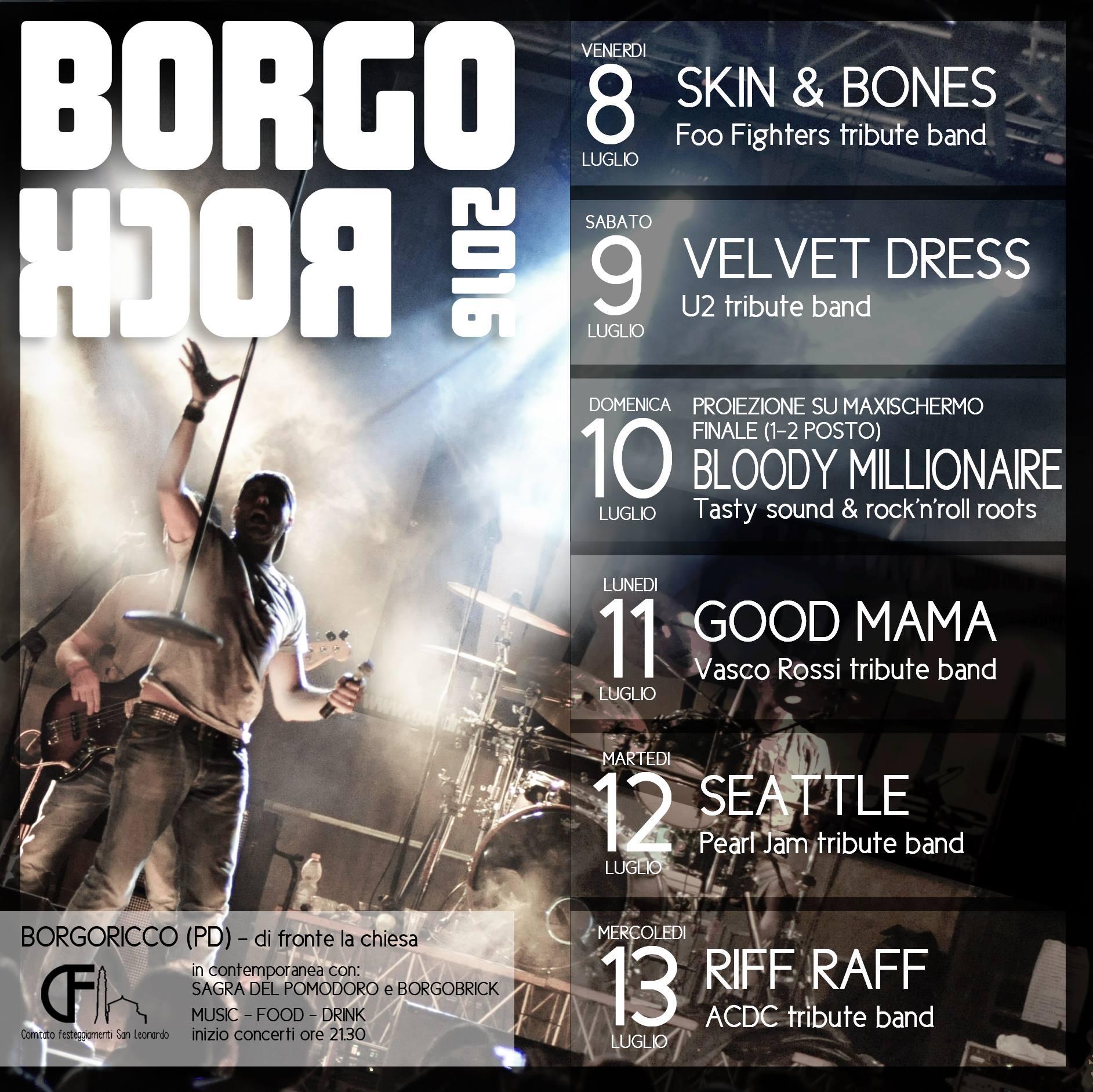 BORGOROCK 2016